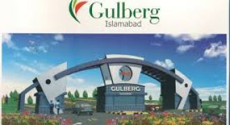 Gulberg Residentia plots for sale.