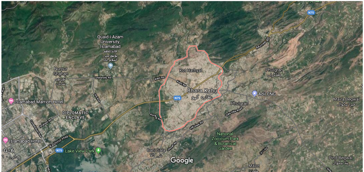 4-lane flyover to be constructed on Murree Expressway N-75  in Bara Kaho