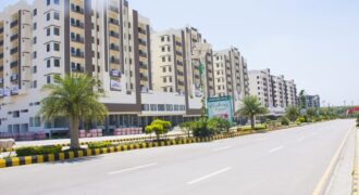 For Rent :Gulberg Green Islamabad Samama Star mall and residency  2 bedroom apartment (B Type) , 769 square feet  Second floor corner in Tower 1, Rent 35000/PM ( including Maintenance)