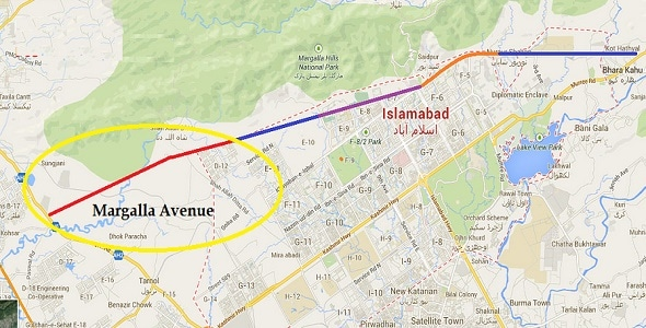 CDA decides to engage new contractor on Margalla Avenue