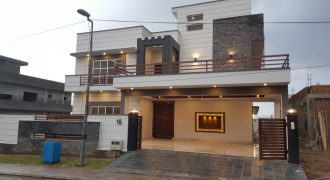 DHA 2 Islamabad Sector B One Kanal Six Beds double unit new house for Sale 5.5 crore