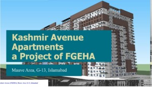 FGEHA G-13 Kashmir Avenue Mauve Area Executive Apartments A-Type 3 beds apartment