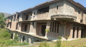 For Sale: Commercial under construction 100 beds Hospital on 10 kanal land in Kanju township Swat. 20 crore