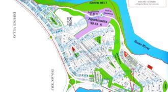 Bahria phase 7 Bahria Spring Theme park avenue 9.6 Marla (40×60) commercial plot no.21, Demand 8 crore