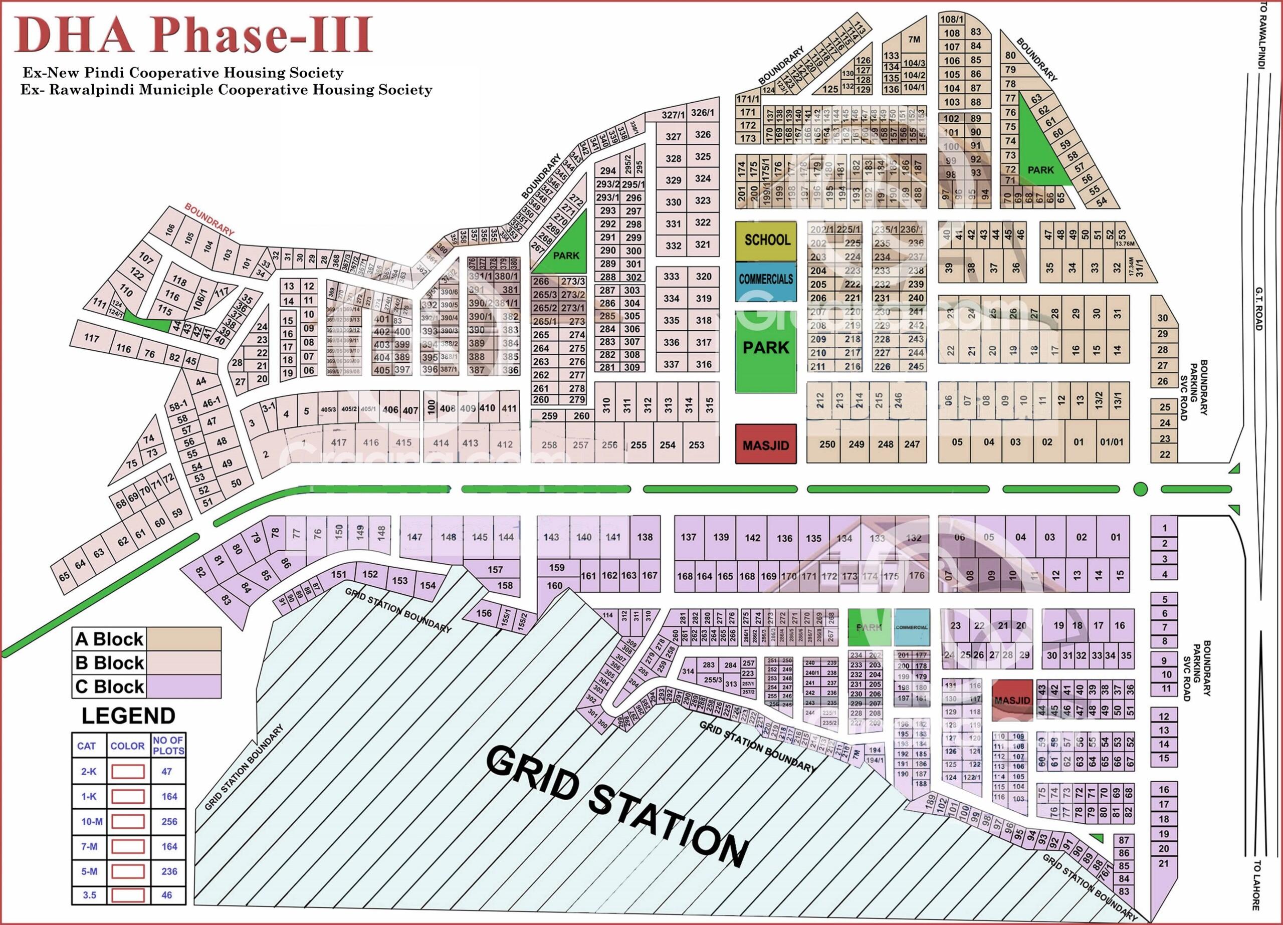Map Of New Pindi Housing Society