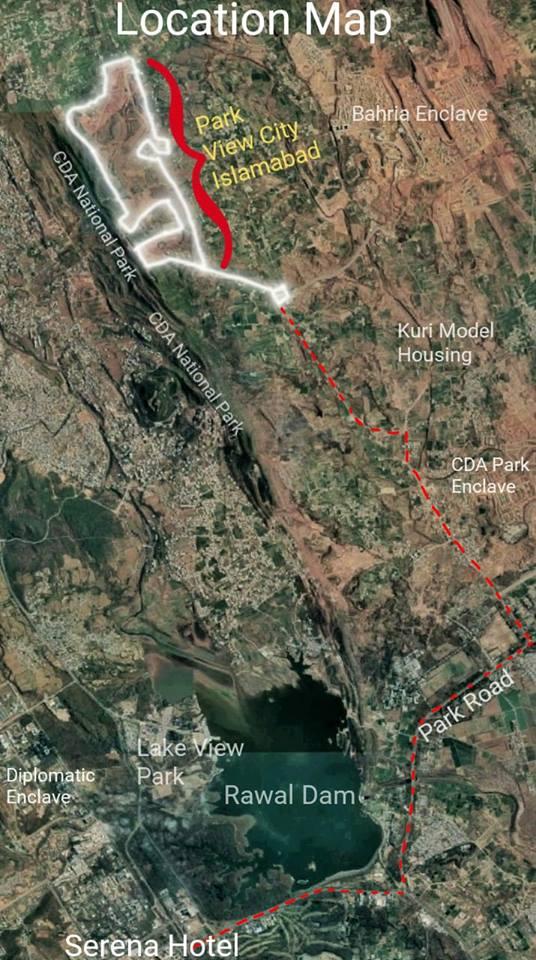 Location Park View