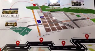 For Sale: Faisal Hills Pair plots for sale in street 23 sector B, 35×70 each All dues clear. Open. 52 lac each.