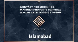 Book Your Plot on Installments in Nova City Islamabad
