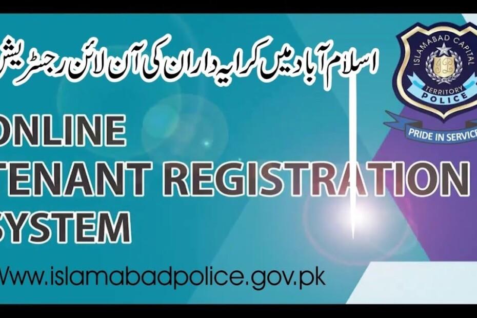 Online tenant registration opens in Islamabad