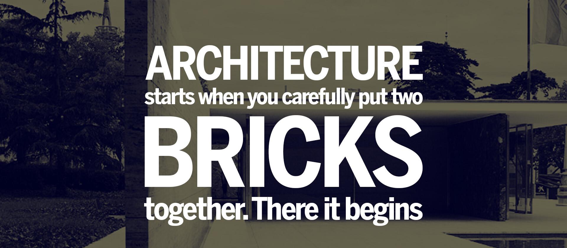 architecture-Bricks