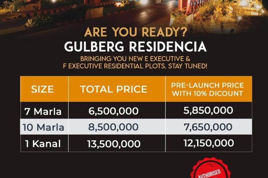Price plan New-F-E-Block-Gulberg-Islamabad