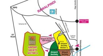 For Sale: 3 Marla Corner Commercial Plot In Vip Sector Of Airport Society